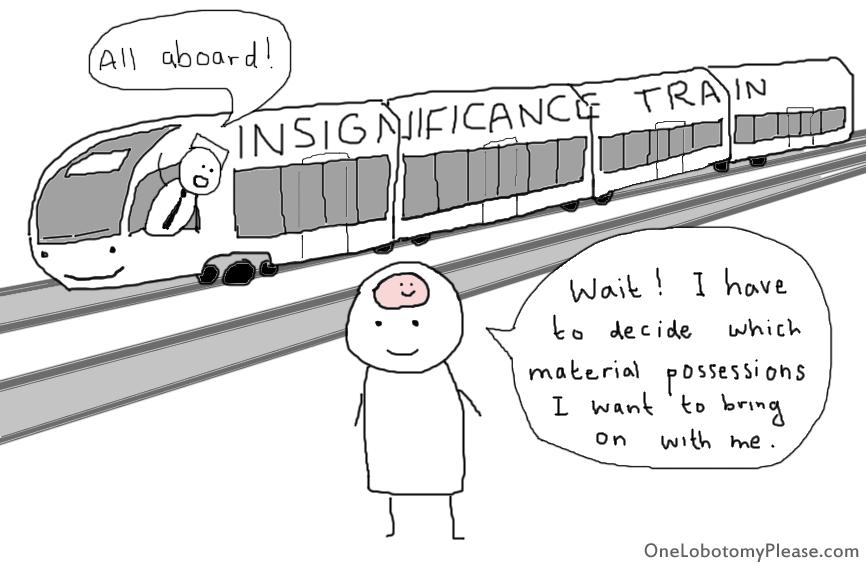 insignificance train
