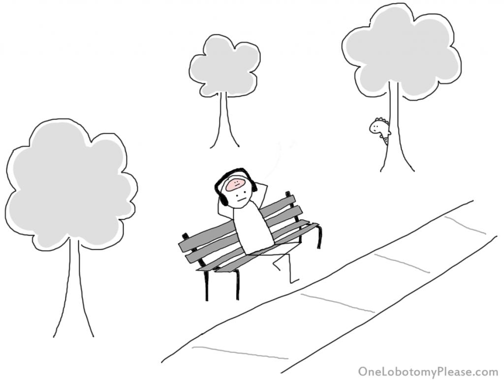 dino visible bench
